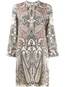 Etro платье с принтом пейсли 134414330