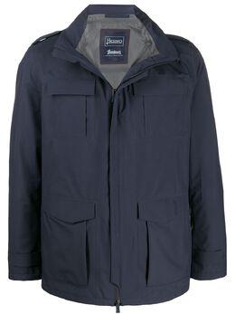 Herno куртка-бомбер с классическим воротником FI007UL11101