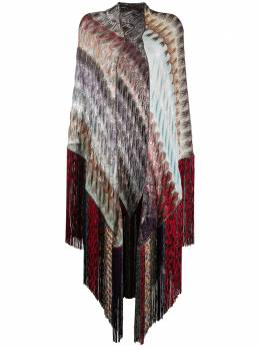 Missoni шарф с бахромой в технике макраме MDS00009BR007X