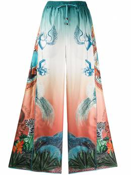 F.R.S For Restless Sleepers расклешенные брюки Luna с принтом PA002301TE00413