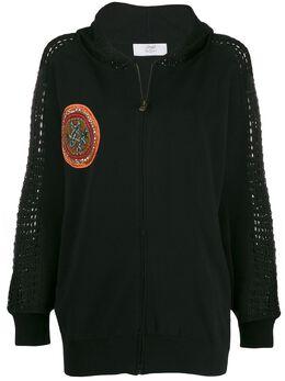 Mr & Mrs Italy куртка с капюшоном и вышивкой SWZ036JM