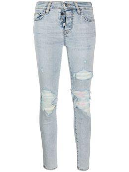Amiri джинсы скинни с прорезями Y0W01411SD
