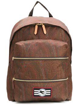 Etro рюкзак с узором пейсли 1I2828718