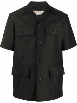 Marni рубашка с карманами CUMU0145U0S52539