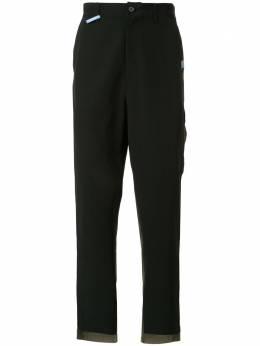 Maison Mihara Yasuhiro комбинированные брюки A04PT101