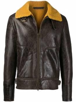 Salvatore Santoro куртка с подкладкой из овчины 37529U