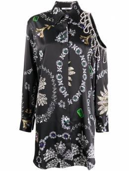 Area платье-рубашка с принтом RE20D09062