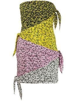 Philosophy Di Lorenzo Serafini облегающее платье с цветочным принтом 04400750