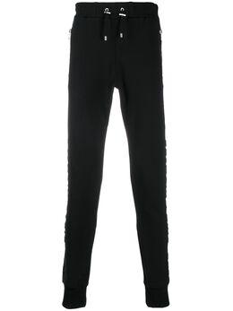 Balmain спортивные брюки кроя слим TH15632L240