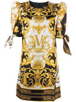 Versace платье с принтом Barocco A85786A233248