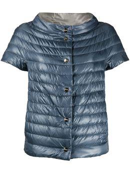 Herno двусторонняя куртка-пуховик с короткими рукавами PI0902D12017