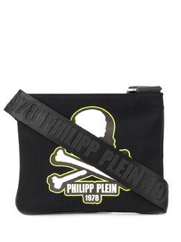Philipp Plein сумка-мессенджер с принтом S20AMBA0896PTE003N