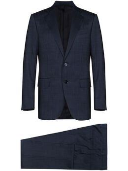 Ermenegildo Zegna костюм-двойка строгого кроя 722038221225