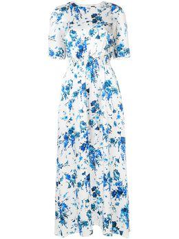 Adam Lippes платье макси с цветочным принтом P18704HR