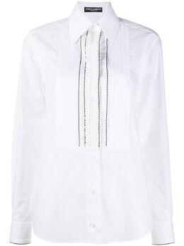 Dolce&Gabbana рубашка с манишкой F5M24ZFU5K9