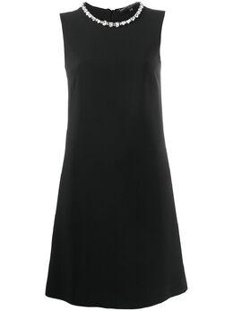 Ermanno Scervino платье без рукавов с кристаллами D362Q363UKF