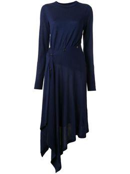 Sies Marjan трикотажное платье Charlotte асимметричного кроя 15FE8072SLOWOOL