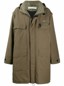 Off-White пальто свободного кроя OMEA199F19F230264301