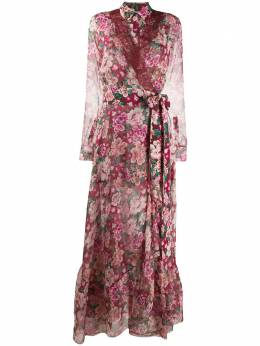 Faith Connexion платье-рубашка с цветочным принтом W1626T00519