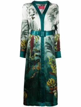 F.R.S For Restless Sleepers платье с принтом AB000702TE00433