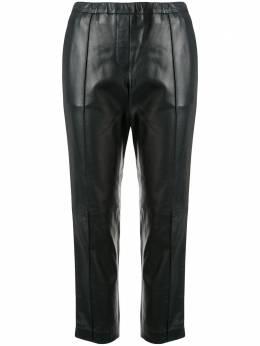 Yves Salomon укороченные брюки 20E20EYP247XXAPME