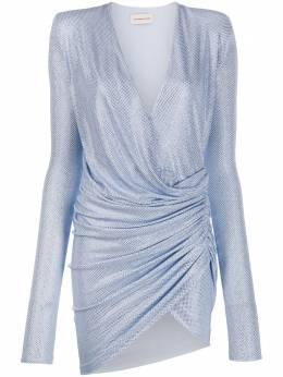 Alexandre Vauthier платье мини со стразами 201DR1202B