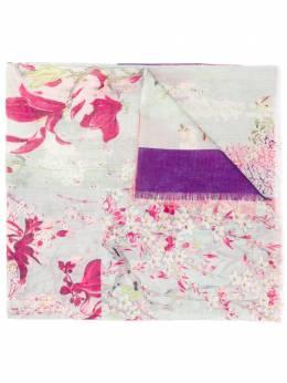 Etro шарф с цветочным принтом в технике пэчворк 137225734