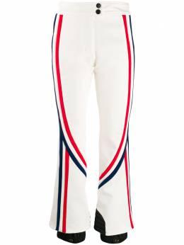 Moncler Grenoble расклешенные брюки в полоску 1642480C0248