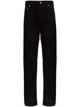 Alexander McQueen прямые джинсы с логотипом 610137QOY86