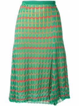Kolor трикотажная юбка с узором шеврон 20SCLS07306