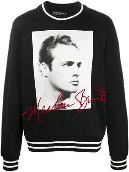 Dolce&Gabbana толстовка с принтом Marlon Brando G9OW6ZG7VPR
