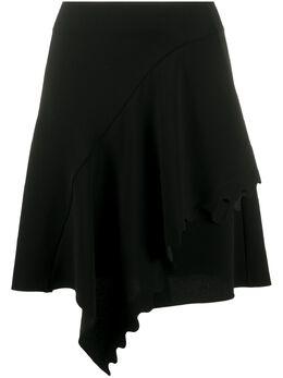 Chloe юбка с фестонами и драпировкой CHC20SJU24137
