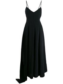 Ami Paris платье с драпировкой и боковыми вставками E20FR101415