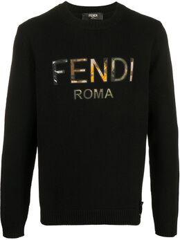 Fendi джемпер с логотипом FZY079ABDJ