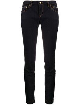 Dolce&Gabbana джинсы скинни с логотипом FTAH7DG899N