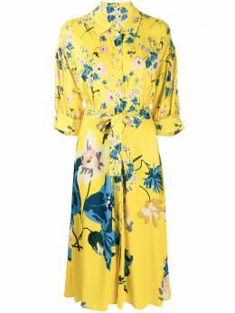 Antonio Marras платье-рубашка с цветочным принтом LB5009TED33S0