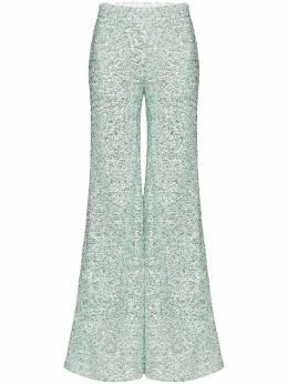 Halpern расклешенные брюки с пайетками S20TR013