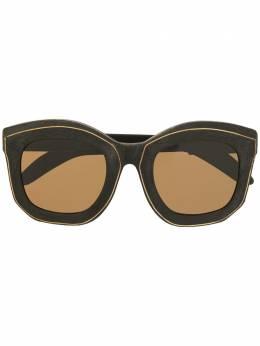 Kuboraum солнцезащитные очки в массивной оправе KRS0B2BM00BTGBBK