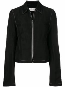 Wales Bonner куртка с классическим воротником SS18606BBTL