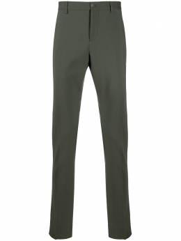 Valentino брюки строгого кроя с лампасами TV3RBD455U8
