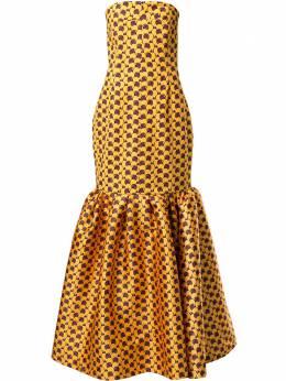 Solace London платье макси Ari OS25037B