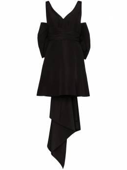 Carolina Herrera платье мини из тафты с бантом R2011N559SFA