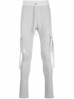 Amiri спортивные брюки кроя слим Y0M09391TE