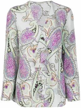 Etro блузка с принтом пейсли 136054400