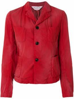 Comme Des Garcons Girl куртка с четырьмя карманами и выцветшим эффектом NAJ001