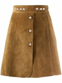 Prada юбка А-силуэта на кнопках 51750054