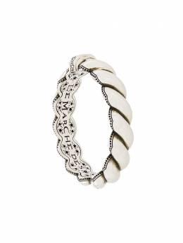 Gucci плетеный браслет с гравировкой 599738J8400