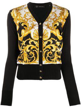 Versace кардиган с принтом Baroque A85554A233111