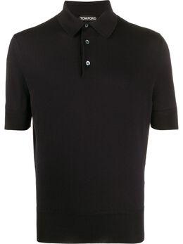 Tom Ford рубашка-поло с короткими рукавами TFKC33BUC00