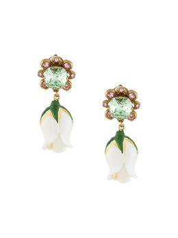 Dolce&Gabbana серьги-клипсы с кристаллами WEM2B3W1111